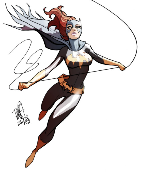 Batgirl color ~BY Marcio Takara