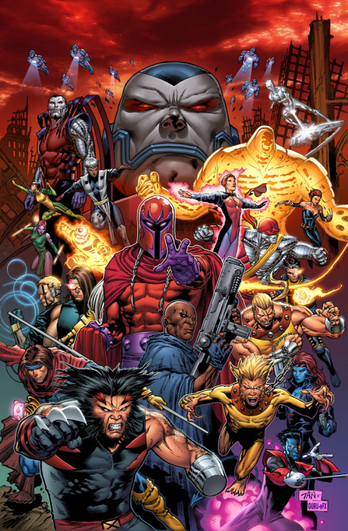 fuckyeahmagnus:  comicsforever:  X-Men: The Age Of Apocalypse // artwork by Phillip Tan and Joe Weltjens (~GURU-eFX,2011)  O____O