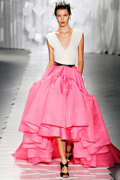 Favorite look:  Jason Wu   gilllllystyle:  look at this.