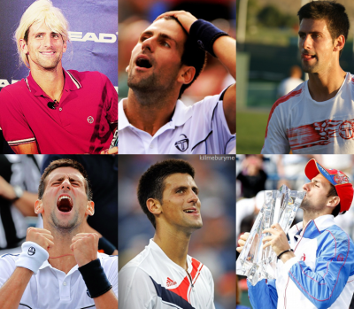 ★ My Favorite Tennis Players (In no particular order.) ↳ Novak Djokovic