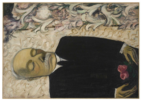 fyeahwomenartists:  Alice NeelDead Father, 1946  (via Weird wonderland: Alice Neel at the Whitechapel Gallery | Art and design | guardian.co.uk)