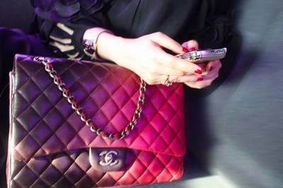 Love this ombre′d Chanel Bag… GORGEOUS!!!
