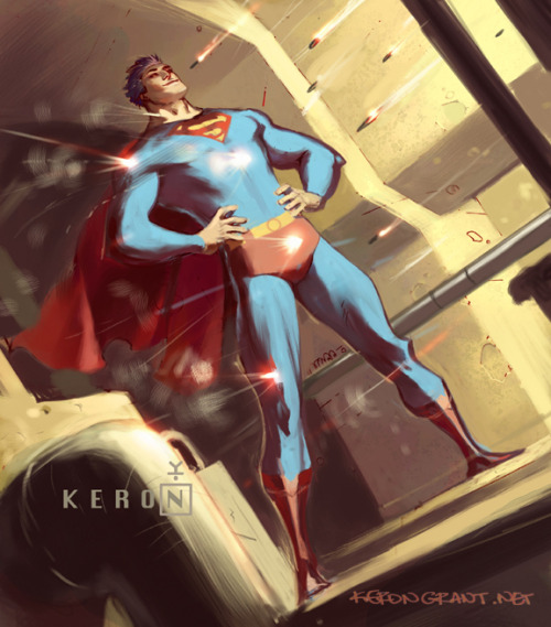 assguard:  thehappysorceress:  Superman bullet by Keron Grant   crotch of steel