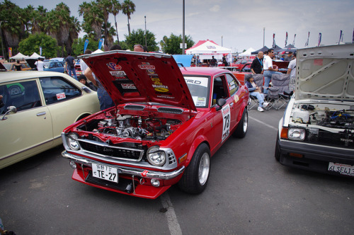 carheadfrancee:  rotary powered TE27 corolla