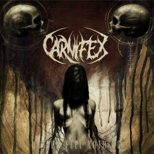 sleeplessinstinct:  stonermindftw420:  gutterballgore:  Carnifex - Until I Feel Nothing, new album cant wait should be sick.  Wow. A 4th Carnifex Album. I'm Impressed.  Holy shit!, sick artwork <3