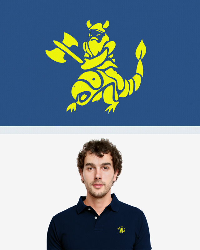 A design for the new Threadless polo competition.