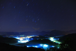xantheose:  star trails 五城星軌 (by Thunderbolt_TW)