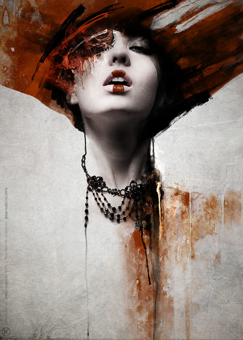 weandthecolor:  Mixed Media Artwork by kubicki. More art inspiration. posted byW.A.T.C. // Facebook // Twitter // Google+