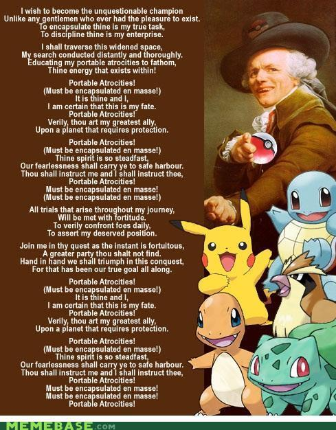 Pokememes - Joseph does the Pokemon Theme Song!