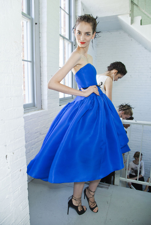 glamour:  Jason Wu, Spring 2012 Photo: Mark Leibowitz