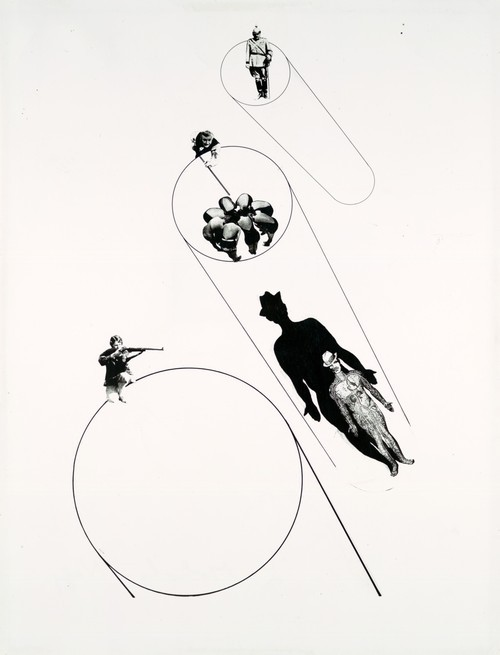 László Moholy-Nagy, Target Practice (In the Name of the Law), ca. 1927 [via areashape:quincampoix]