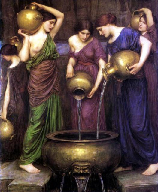 Danaids (1904) by John William Waterhouse