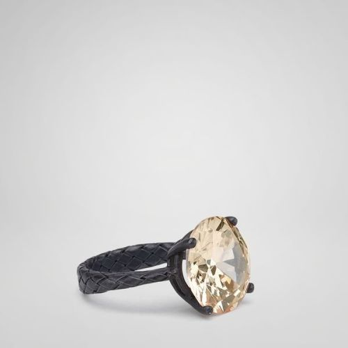 Want: Champagne Zircon Silver Ring