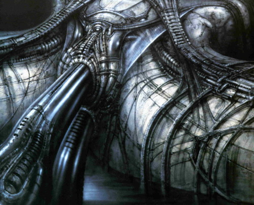 wandering—star:  - H.R. Giger, Necronomicon  love  it