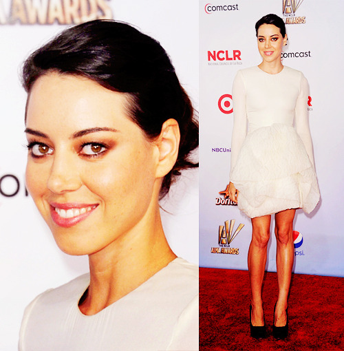Aubrey Plaza @ 2011 NCLR ALMA Awards