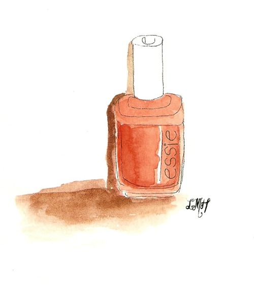 A sketch from my nail salon project