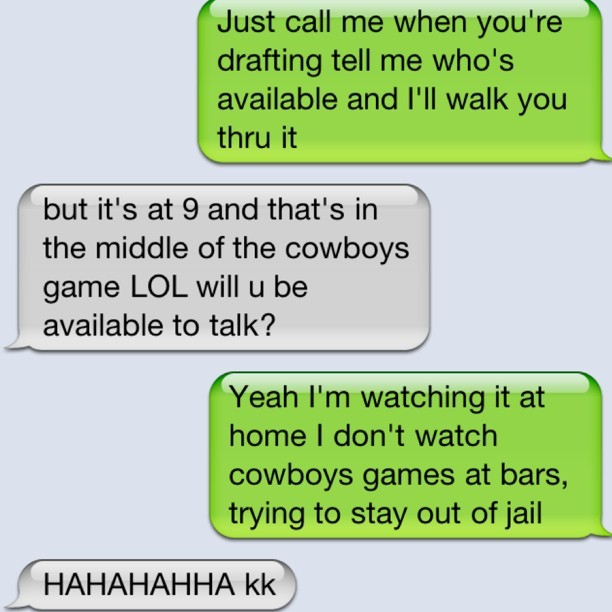 Real #talk #nofilter #gocowboys #dallascowboys #text #screenshot (Taken with instagram)