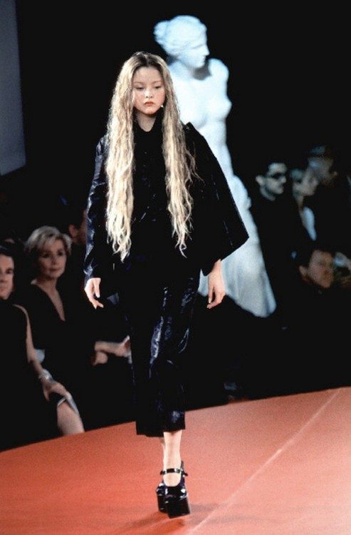 petrole:  devon aoki at jean-paul gaultier spring summer 1999