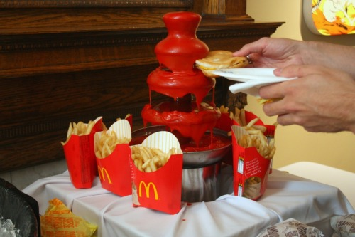 laughingsquid:  Ketchup Fountain
