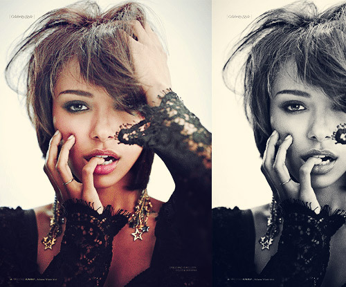 fyeahkatgraham:     Kat, photographed by Guiliano Bekor for Runway Magazine