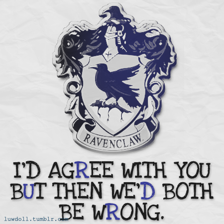 luwdoll:  ravenclaw house pride, version 2.