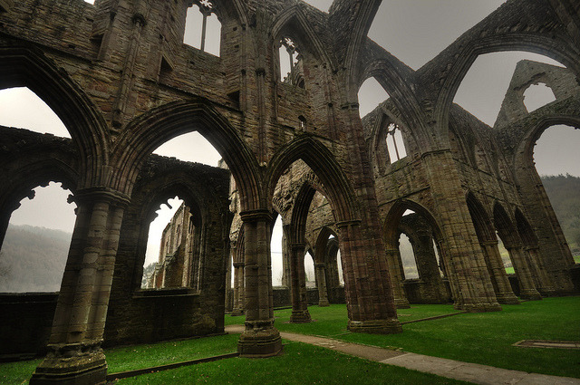 travelthisworld:  Tintern Abbey, Tintern, Wales
