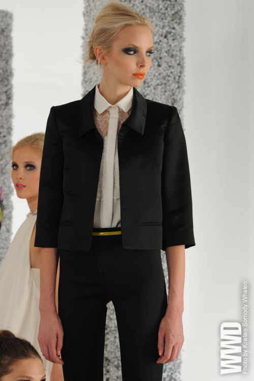 Two words for this ensemble: yes, please. Erin Fetherston S/S 2012