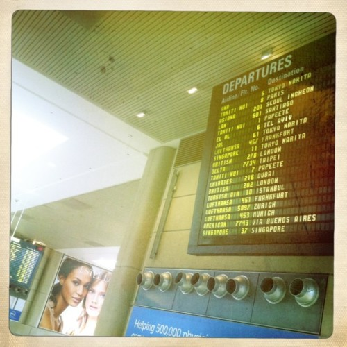 xenijardin:LAX (Taken with instagram)