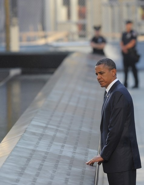 [40 Powerful Images From The 9/11 Memorial]