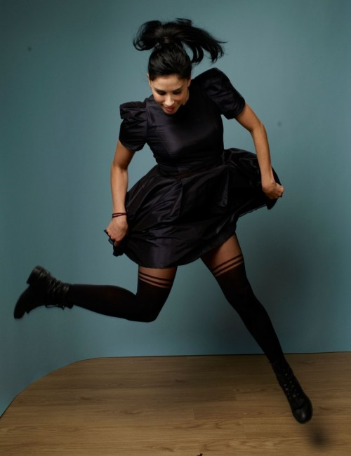 bohemea:  Sarah Silverman - Take This Waltz portrait session at the Toronto Film Festival, September 11th 2011