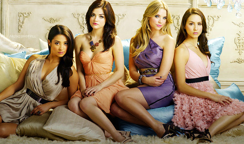 "fashionofpll:   Pretty Little Liars listed as one of the most fashionable television series!   InStyle magazine put PLL in their, The Most Fashionable TV Shows of all Time, list. ""The secrets and twists in this series are dramatic; the jewel-toned dresses and endless accessories are plain perfect,"" said InStyle.  Now I know all you Pretty Little Fashionistas love the fashion of PLL, so now it's my turn to ask. Which liar do you believe is the most fashionable?   Love it(via imgTumble)"