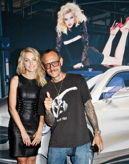 Jessica Stam and Terry Richardson
