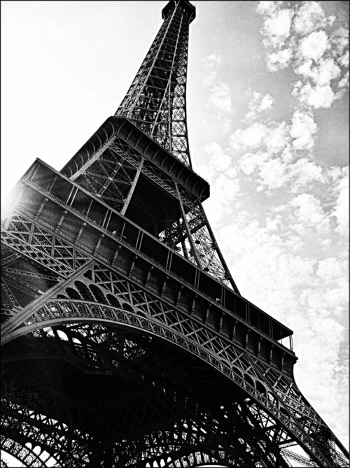 Eiffel Tower by J C Havill