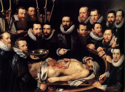 torture-porn:  Michiel Jansz van Miereveld,  Anatomy Lesson of Dr. Willem van der Meer, 1617 by kraftgenie on Flickr.