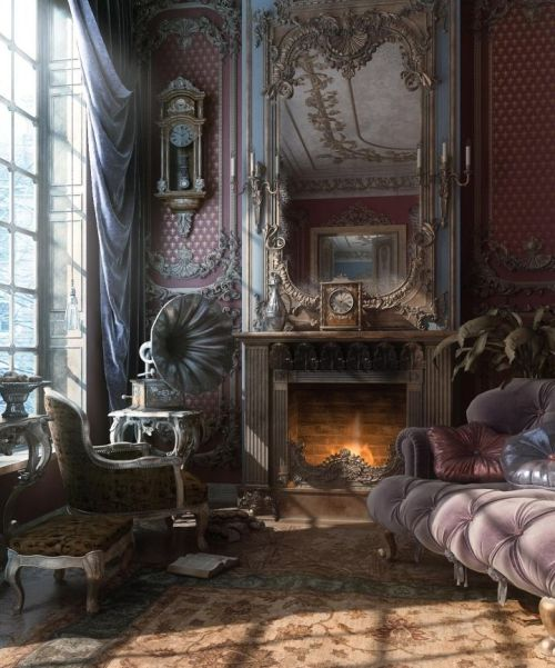 hearts-of-glass:  I could live in this room.