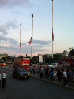 In front of Union Station, 9/11/11