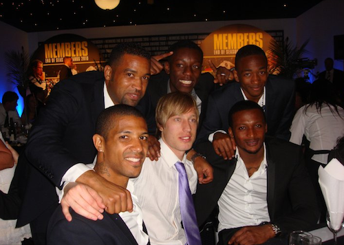 Spot the odd one out. It's easy. (Luciano is the only one still at the club, obviously)
