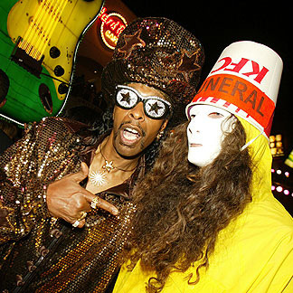 Bootsy Collins and BucketheadTwo of the greatest musicians to ever live.