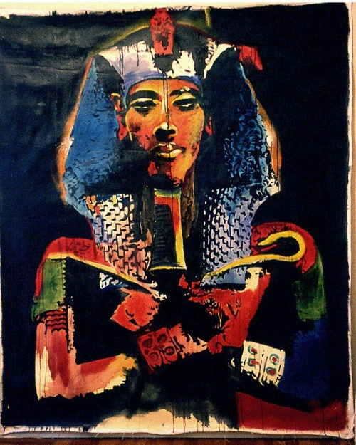 Akhenaten painting by Robert House