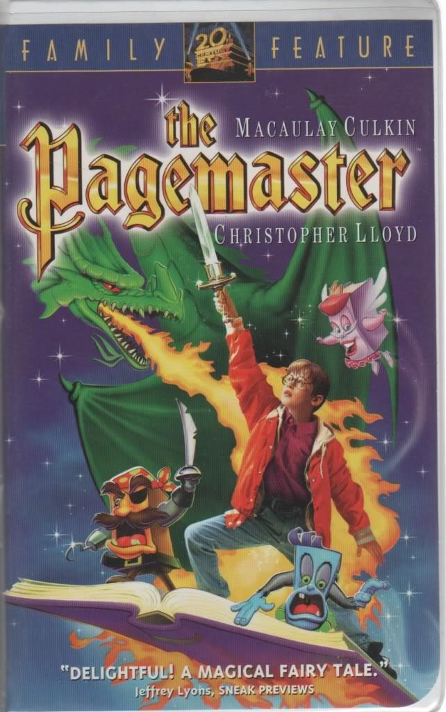 vhsdreamz:  The Pagemaster (1994)