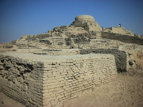 The great and ancient ruins of Mohenjo-Daro, part of a vast and powerful civilization which dominated the Indus river valley thousands of years ago. While Incredibly sophisticated city builders, distinct gaps in the archeological record means we know extremely little of what must have been one of the first great epochs of human civilization.