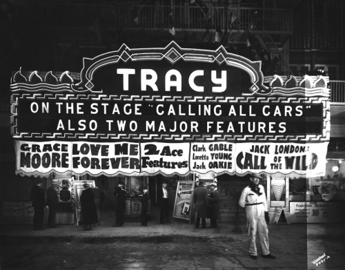 The Tracy Theatre in Long Beach, CA - 1935