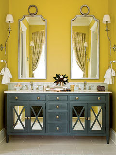(via Coastal Living Seawatch Idea House Master Bathroom - MyHomeIdeas.com)