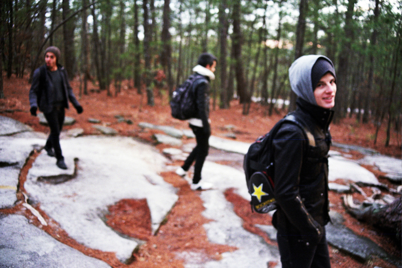 gageyoung:  There for TomorrowStone Mountain, GAFebruary 2011   WE'RE ON THE VERGE At all times.