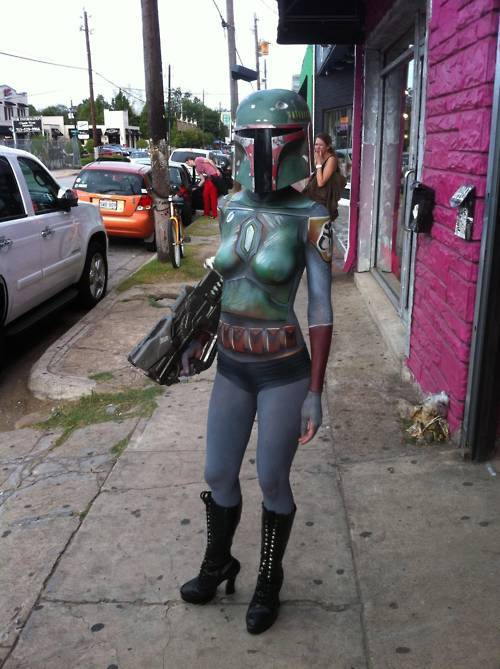 Cosplay of the day: Best lady Boba Fett ever
