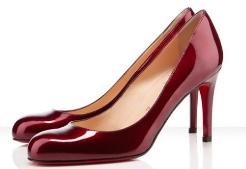 edgina:  Christian Louboutin Simple Pump 85mm Pumps