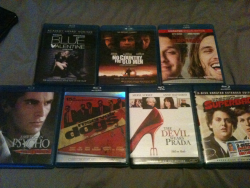 Pretty good haul, this weekend. 60 bucks worth of Blu-Rays. NO REGRETS.