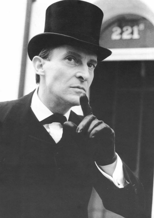 bakerstreetbabes:  16 years ago today, Jeremy Brett died, who, for many, was the quintessential Sherlock Holmes. In loving and lasting memory, RIP.