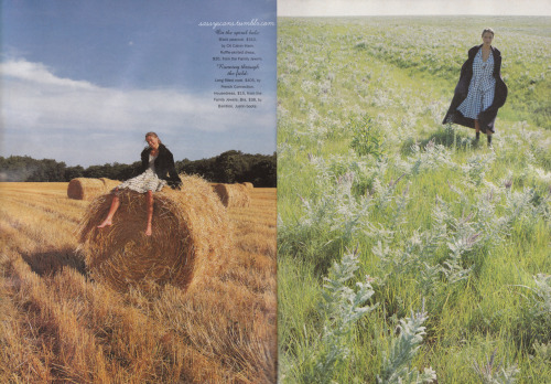 More from the October 1994 issue, and more of the pretty PRAIRIE-themed spread.