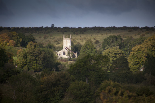 Finalising the photo's for the wonderful Saint Giles in Imber today